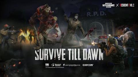 PUBG MOBILE X Resident Evil 2 Crossover Trailer