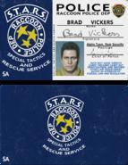 RE3R Brad's ID Card close-up