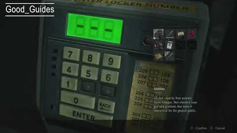 Resident Evil 2 Remake Guides How to open Portable Safe and use the Spare Key