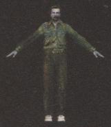 Degeneration Zombie body model 25