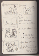 Resident Evil 2 storyboard - One More Kiss 2