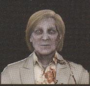 Degeneration Zombie face model 10