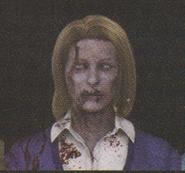 Degeneration Zombie face model 12