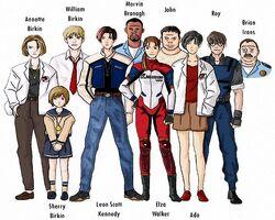 Personajes de RE 1.5