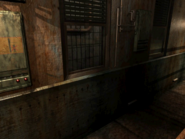 Resident Evil 3 background - Uptown - warehouse w - R10110