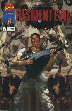 Resident Evil Marvel Comics - front cover