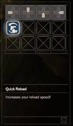 RESIDENT EVIL 7 biohazard Skill Quick Reload