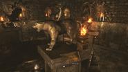 Resident Evil 0 HD - Basement hall lion examine 1