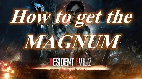 Resident Evil 2 Remake Guides How to get the Magnum Lightning Hawk weapon