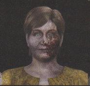 Degeneration Zombie face model 57