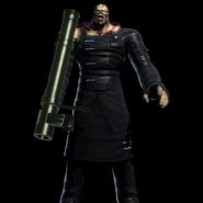 Nemesis's full victory pose