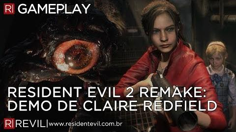 RESIDENT EVIL 2 REMAKE - DEMO DA CLAIRE REDFIELD GAMEPLAY