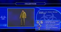 Resident evil outbreak george hamilton artwork ingame model 3d alternate costume