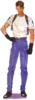 BIOHAZARD 1.5 concept art - Leon S Kennedy early casual design reconstruction transparent