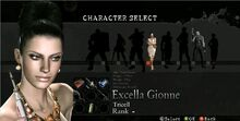 Excella Gionne RE5 Mercenaries Reunion
