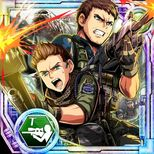 Piers Nivans and Chris Redfield Team Up Clan Master