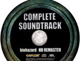 Biohazard HD REMASTER COMPLETE SOUNDTRACK