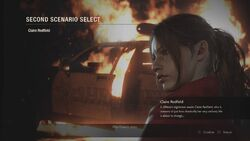 RE2 remake Claire 2nd PV