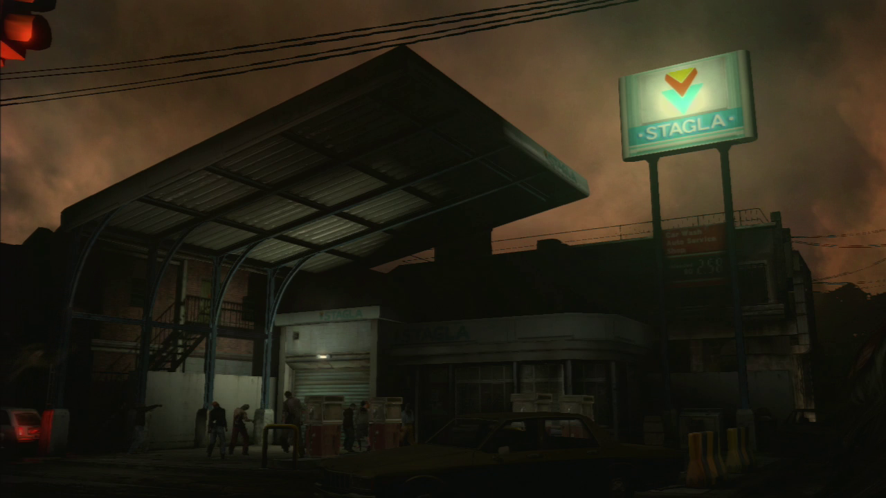 Image result for Resident Evil 3 Remake gas station""
