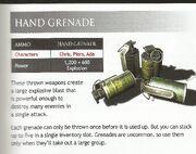 HandGrenadeDescription