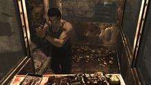 Resident Evil 0 training school - gas laboratory chamber