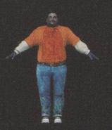 Degeneration Zombie body model 5