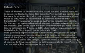 Ficha de Piers Archivo