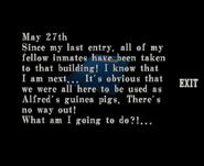 RECV Files - Prisoners Diary 09