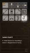 RESIDENT EVIL 7 biohazard Lantern Hook B inventory