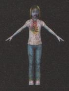 Degeneration Zombie body model 65