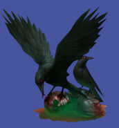 Resident Evil Zero concept art - Crow