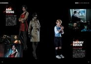 BIOHAZARD RE2 Official Complete Guide Page 008, 009