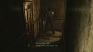 Resident Evil 0 HD - boiler room extinguisher 1 examine