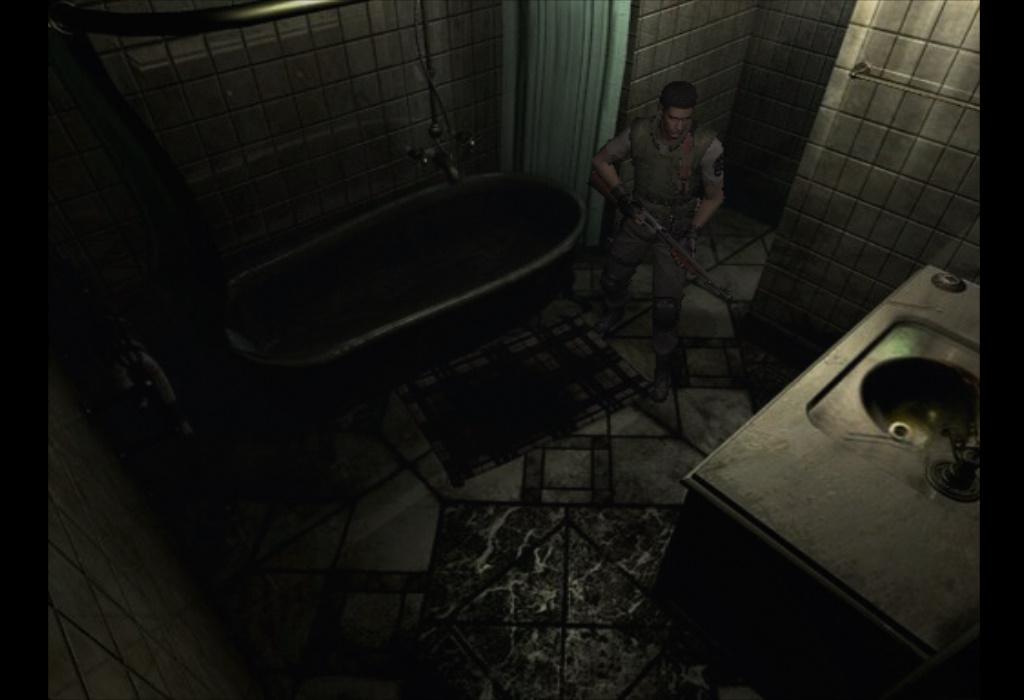 Mansion Bathroom Resident Evil Wiki FANDOM Powered By Wikia - Bathroom remake