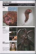 Biohazard Damnation Artbook - Plaga Creature Guide