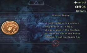 Medalla Unicornio