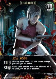 Nightmare card - Ada Wong CH-043