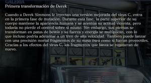Primera transformación de Derek