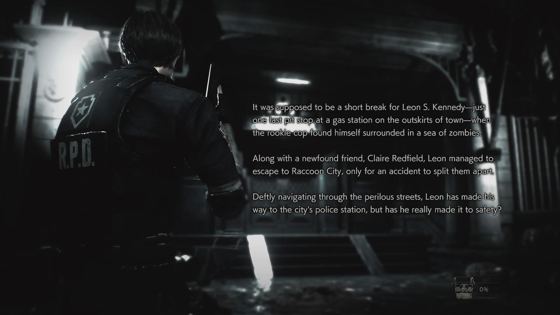 Loading screens (RE2 remake) | Resident Evil Wiki | FANDOM powered
