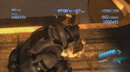 RE6 Agent peform his melee move
