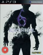 RE6 PS3 UK Cover