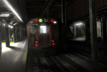 Raccoon City Subway