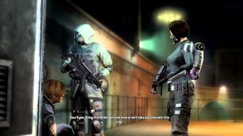 Resident Evil Operation Raccoon City all cutscenes - Capture (Four Eyes and Vector)