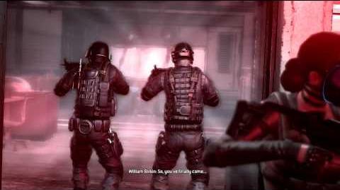 Resident Evil Operation Raccoon City all cutscenes - Reaching Birkin's lab