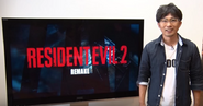 Yoshiaki Hirabayashi RE2REmake Announcement