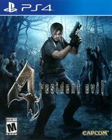 RE4 PS4 cover