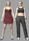 Resident evil outbreak alyssa ashcroft 3d ingame model (4)