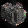 Building 3 (lanshiang) diorama
