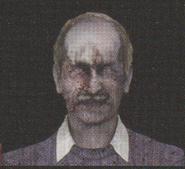 Degeneration Zombie face model 23