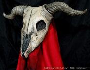Goat skull re4 mask1